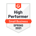 G2 High Performer Small Business