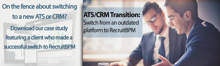 recruitbpm ats crm case study applicant tracking system