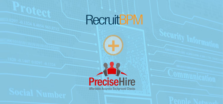RecruitBPM Integrates with Precise Hire