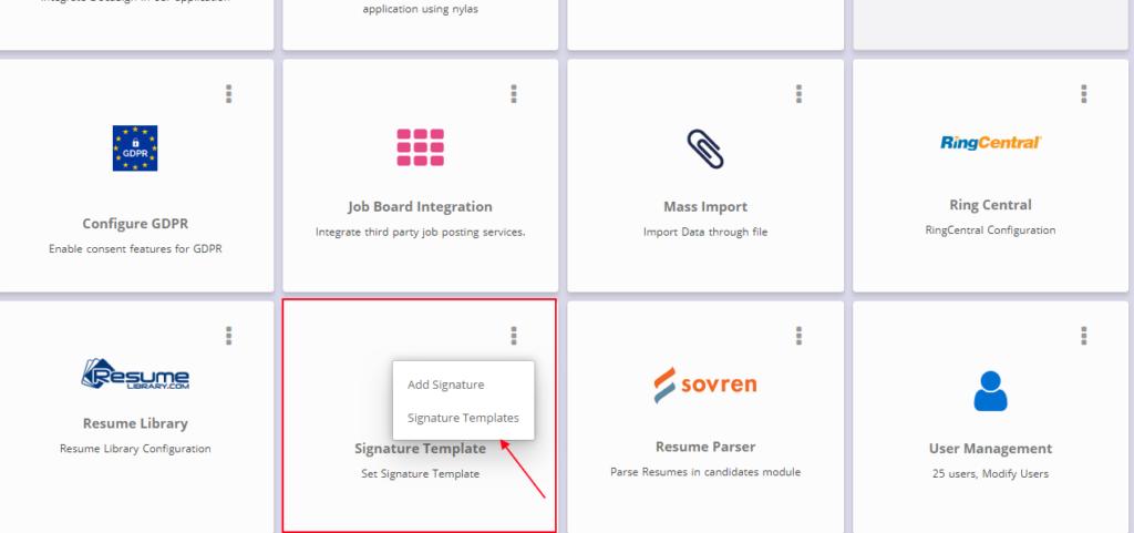 Email signatures - Knowledge Base - RecruitBPM
